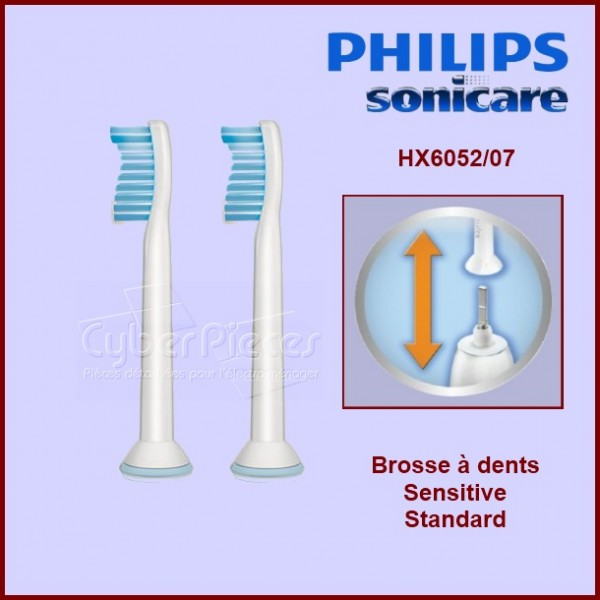 Brosse à dents Sensitive Standard HX605207