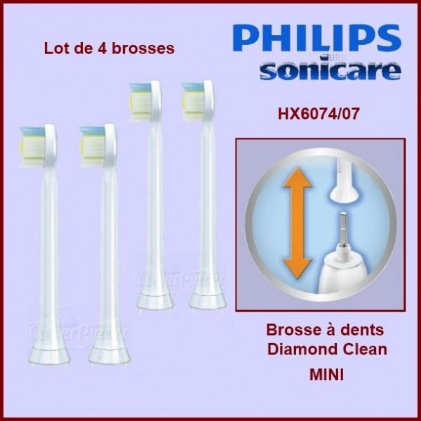 Brosses à dents Sonicare Diamond Clean Mini HX6074/07