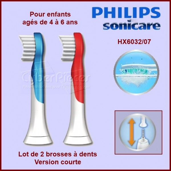 Brosse à dents For Kids HX6032/07
