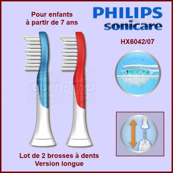 Brosse à dents For Kids HX6042/07