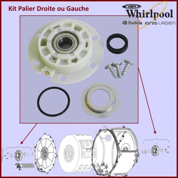 Palier odalys 481231018578 pour paliers kits roulements - Cherche machine a laver pas cher ...