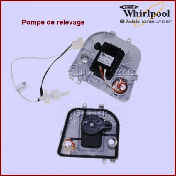 pompe compl te 481070109852 pour seche linge lavage pieces detachees electromenager. Black Bedroom Furniture Sets. Home Design Ideas
