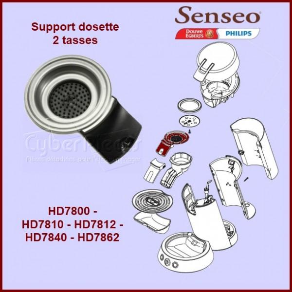 Support de filtre 2 tasses Senseo - 422225939030