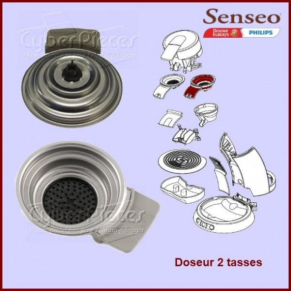 Support de filtre 2 tasses Senseo HD7850 - 422225943900