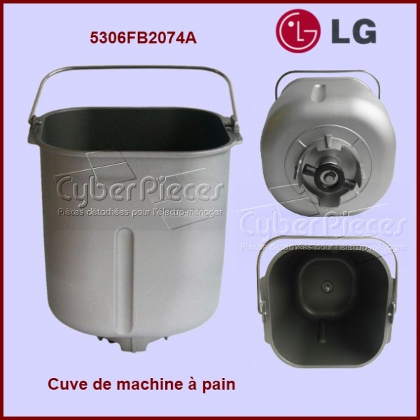 cuve de machine pain lg pour machine a pain petit. Black Bedroom Furniture Sets. Home Design Ideas