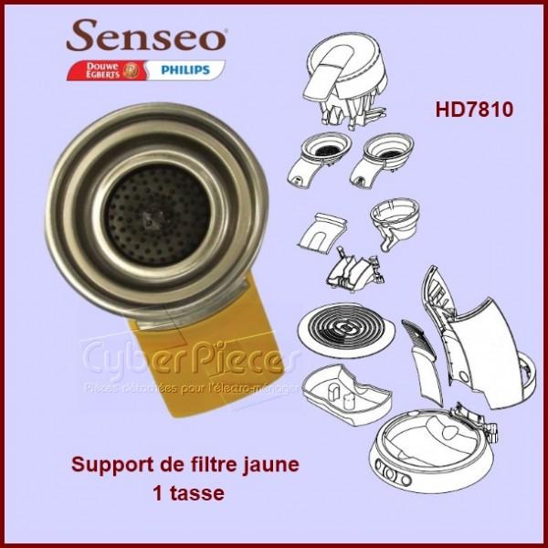 Support dosette 1 tasse jaune - 422225929240
