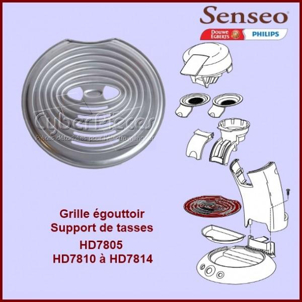 Grille inox égouttoir Senséo - 422224006670