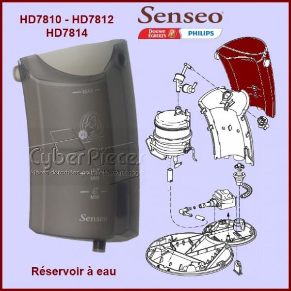 r servoir eau senseo 422225948663 pour senseo machine a dosettes petit electromenager pieces. Black Bedroom Furniture Sets. Home Design Ideas