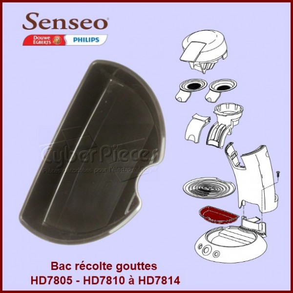 Bac récupérateur Senseo - 422224735790