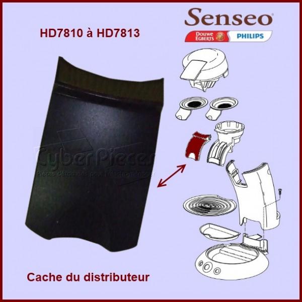 Cache noir du distributeur Senseo - 422224737140