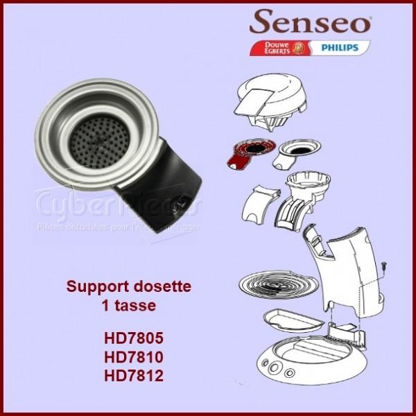 Support de filtre noir 1 tasse Senseo - 422225938970