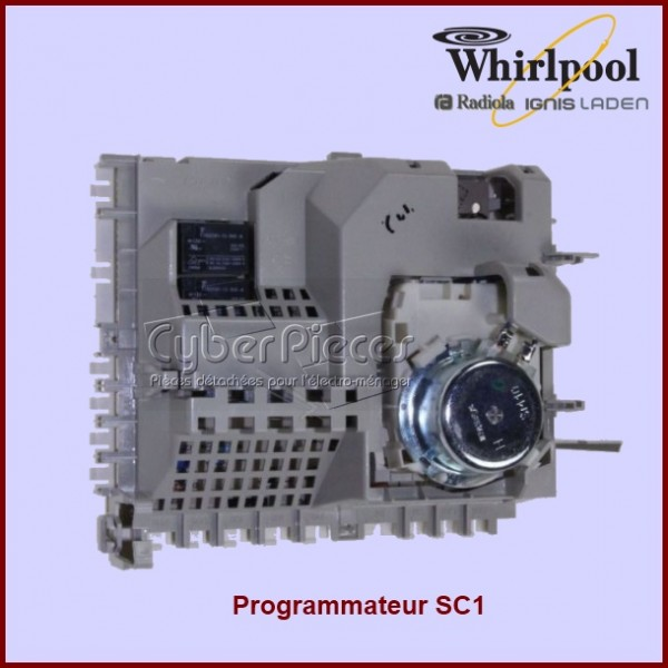 Module SC1 vierge Whirlpool 481228210219