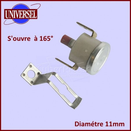 Thermostat 165° NC Rearmable