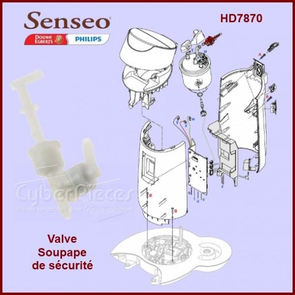 soupape senseo 422225954481 pour senseo machine a. Black Bedroom Furniture Sets. Home Design Ideas