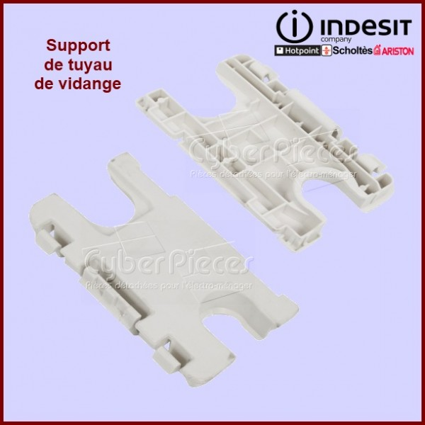 Support 45 / 60 cm du tuyau de vidange Indesit  C00275963