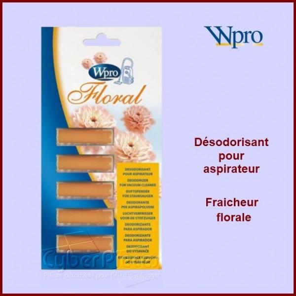Désodorisant pour aspirateur fraicheur florale