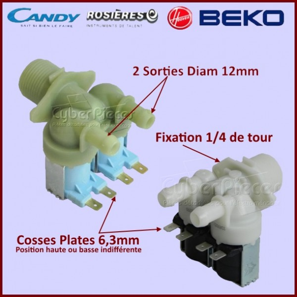 Electrovanne 2 voies Candy 41013615