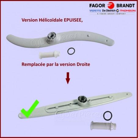 Bras de lavage inférieur + moyeu et joint Brandt 32X2211