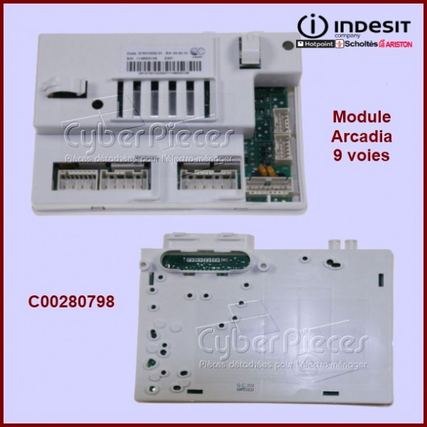 Module ARCADIA 9 voies Indesit C00280798