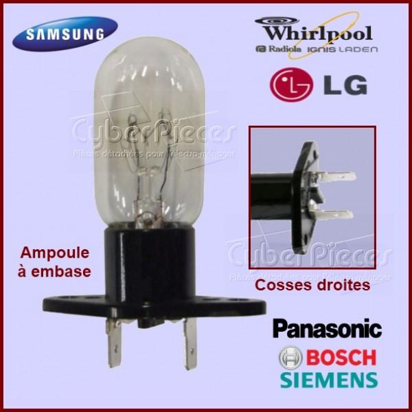 Ampoule 25W - Embase avec cosses droites
