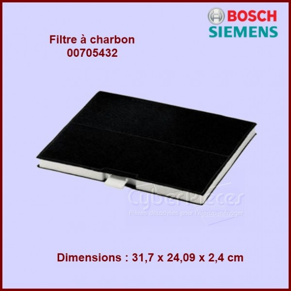 filtre charbon dhz5345 bosch 00705432 pour filtres a. Black Bedroom Furniture Sets. Home Design Ideas