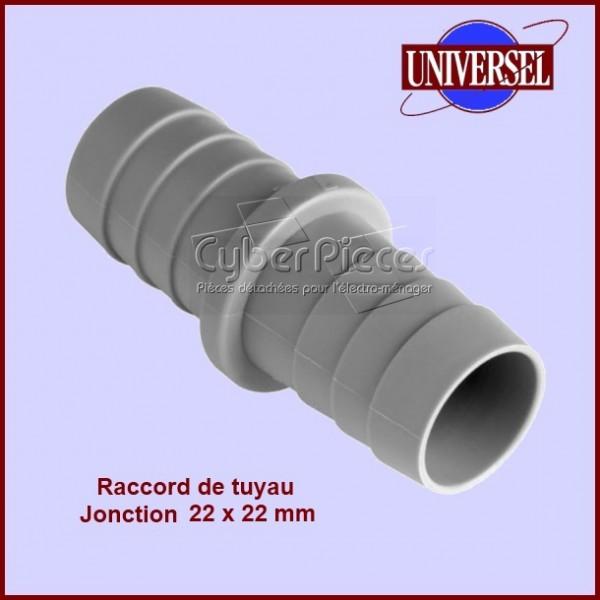Jonction 22x22 mm pour tuyau de vidange