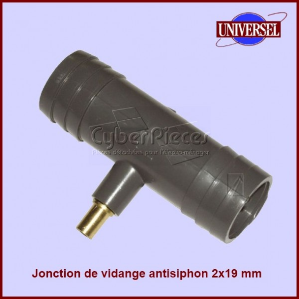 Jonction de vidange anti-siphon