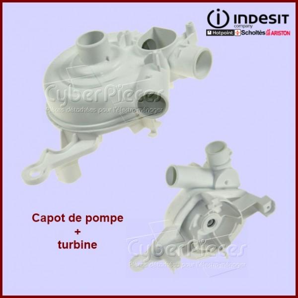 Capot de pompe de cyclage Indesit C00088889
