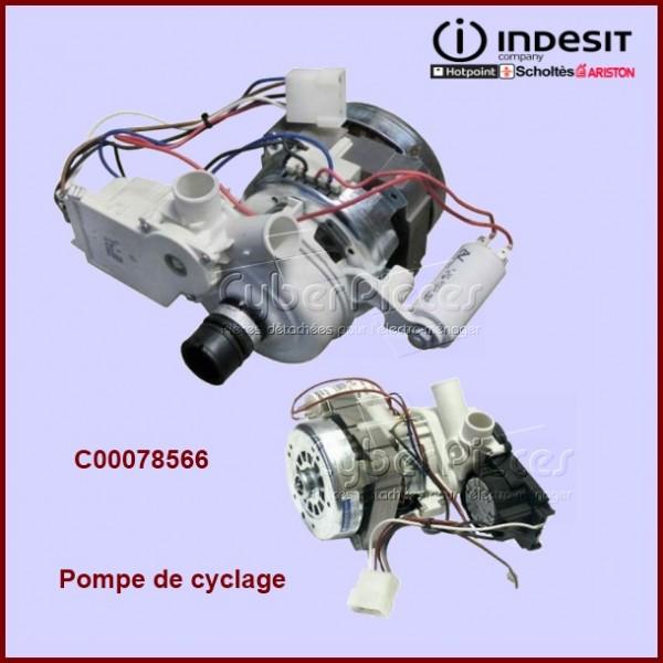 Pompe de cyclage Indesit C00078566