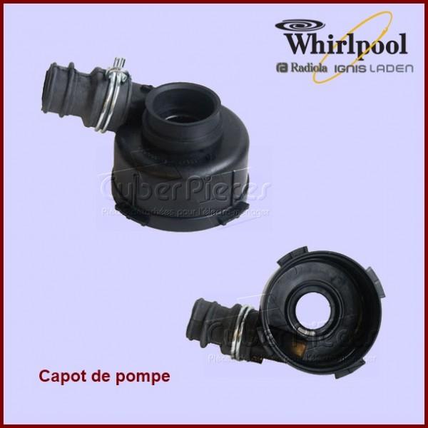 Capot de pompe de cyclage Askoll Whirlpool 481236018545