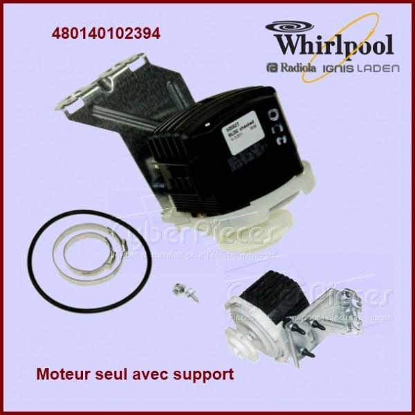 Moteur seul + support  Whirlpool 480140102394