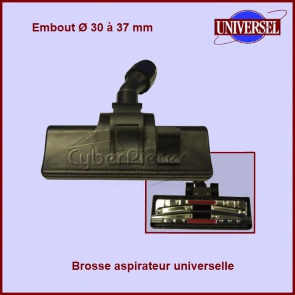 Brosse d'aspirateur universelle à roulettes