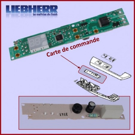 Carte de commande 6114637-00 Liebherr