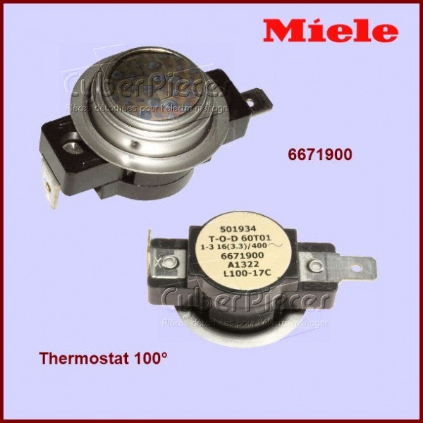 Thermostat 100° Miele 6671900