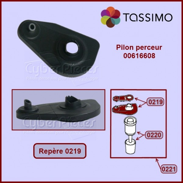 Pilon perceur de capsule Tassimo 00616608