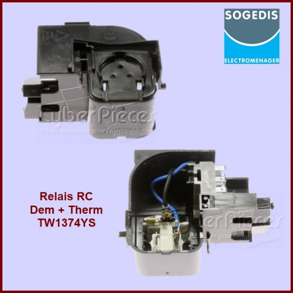 Relais RC Dem + Therm TW1374YS