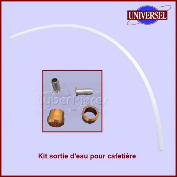 Kit sortie d'eau pour cafetière universel (tube)