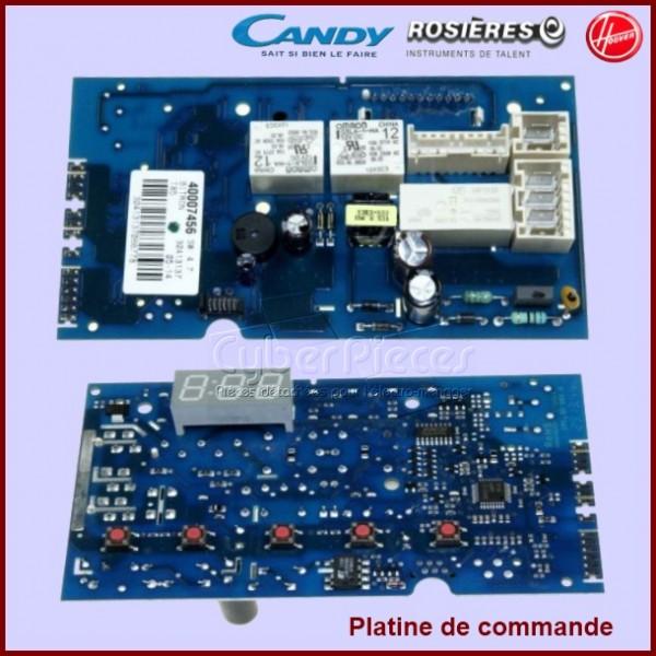 Platine de commande Candy 40006393