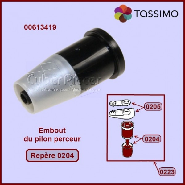Embout pilon perceur Tassimo 00613419