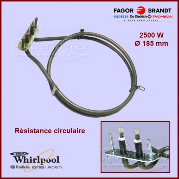 Résistance circulaire 2500w  - 92X6010