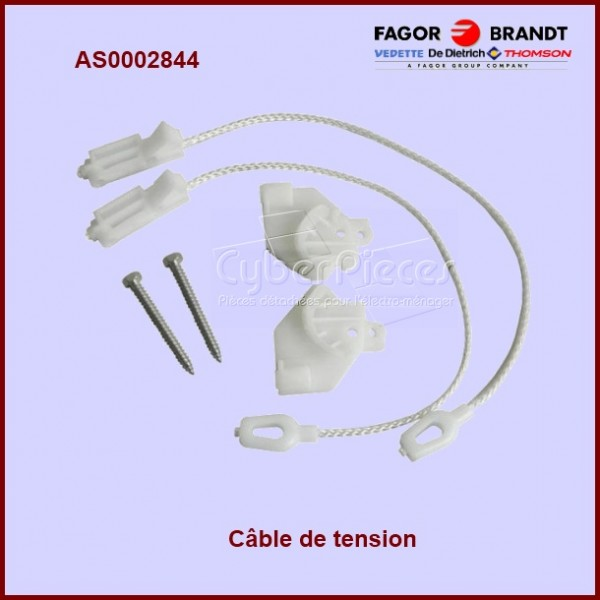 Kit anti bruit de porte lave-vaisselle AS0002844