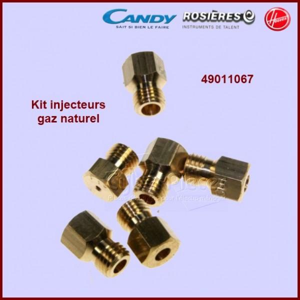 Jeu d'injecteurs gaz naturel Candy 49011067