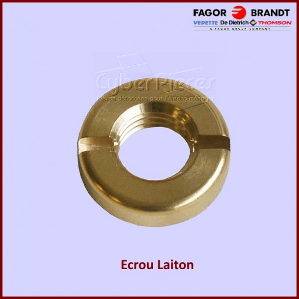 Ecrou laiton X110023N4 Brandt