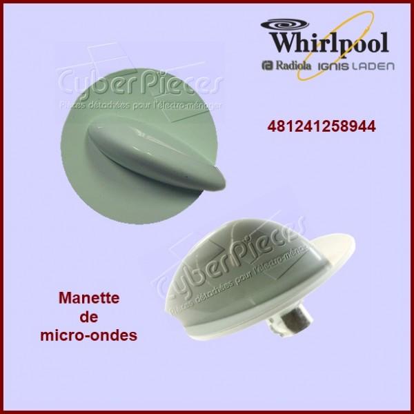 Bouton Whirlpool 481241258944