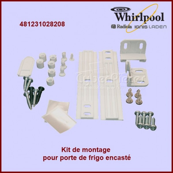 Kit Complet fixation de Porte 481231028208
