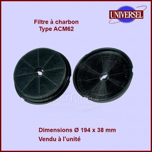 Filtre à charbon Type ACM62 KF24