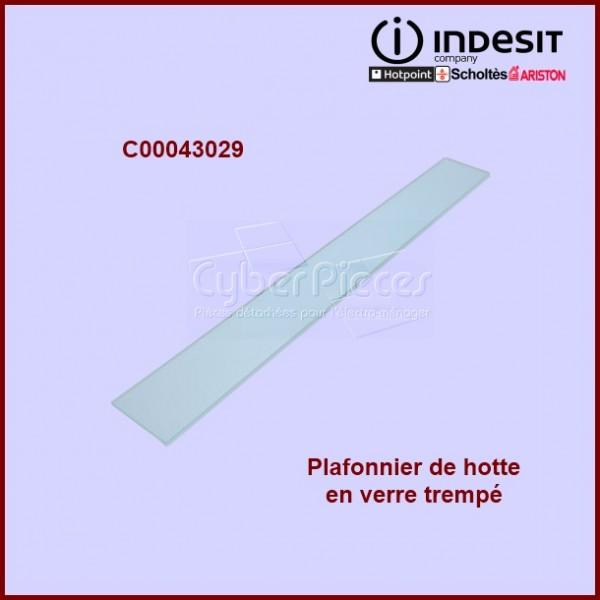 Plafonnier en verre trempé Indesit C00043029