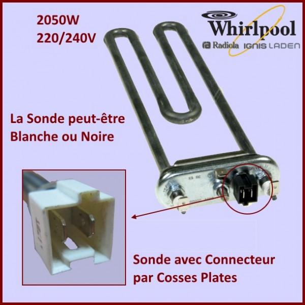 Thermoplongeur Whirlpool 2050W 481225928914