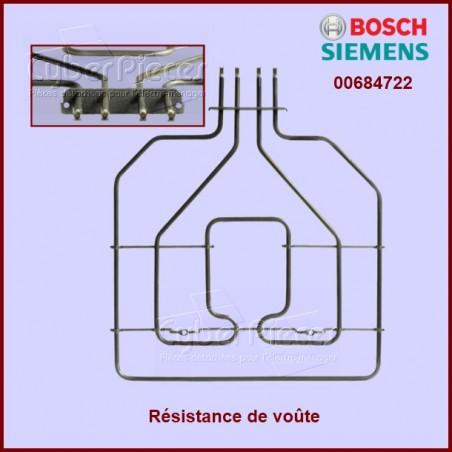 Résistance de voûte  BOSCH 2800 W 00684722