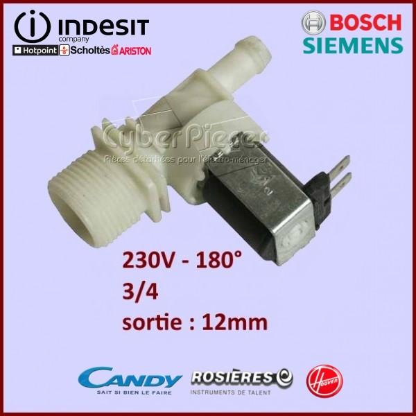 Électrovanne 1 Voie 180° Ø 12mm